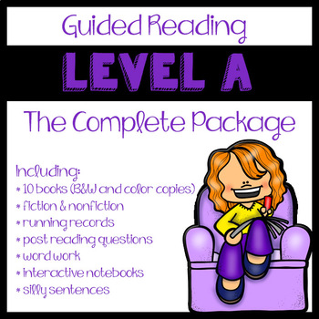 Guided Reading Level A: The Complete Package