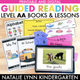 Guided Reading Level AA