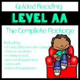 Guided Reading Level AA: The Complete Package