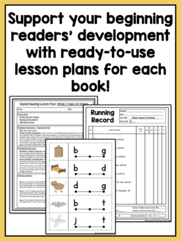 Leveled Readers - Level B Books and Guided Reading Lesson Plans
