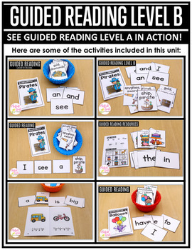 Guided Reading Level B Curriculum