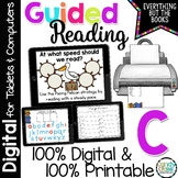 Guided Reading Level C Activities & Lessons (Print & for D