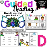 Level D Reading Activities for Guided Reading Centers