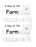 Guided Reading Level D Book: A Day at the Farm w C. Core L