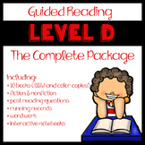Guided Reading Level D: The Complete Package
