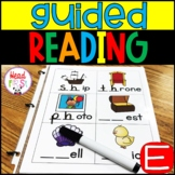 Guided Reading Level E | Word Work | Comprehension