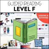 Guided Reading (Level F) Lessons and Activities