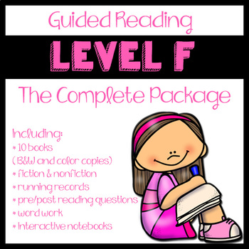 Guided Reading Level F: The Complete Package