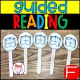 Guided Reading Group Activities Level F with Lesson Plan Template 1st grade