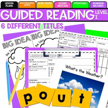 Guided Reading: Level I