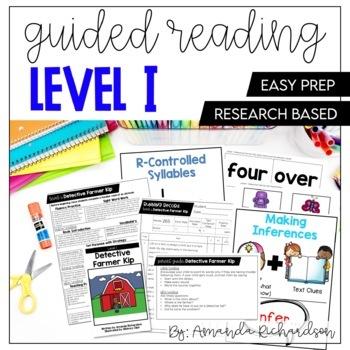 Guided Reading Level I