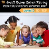 Guided Reading Level I Lesson Plans & Activities for Small Group