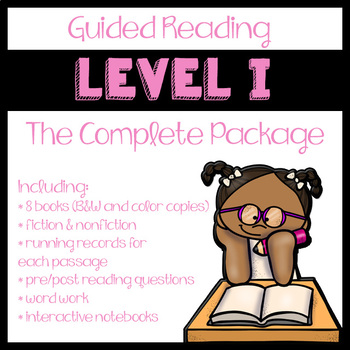 Guided Reading Level I: The Complete Package