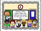 Second Grade Guided Reading Level Indicators and Groupings Poster Set