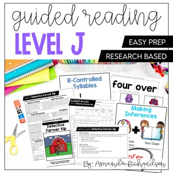 Guided Reading Level J