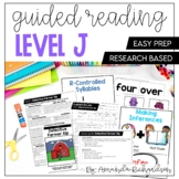Guided Reading Level J Lesson Plans and Activities