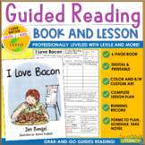 Guided Reading Level J Book and Lesson: Grab and Go!