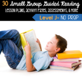 Guided Reading Level J Lesson Plans & Activities for Small Group