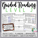 Guided Reading Lesson Plans Level J