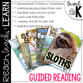 Guided Reading Level K