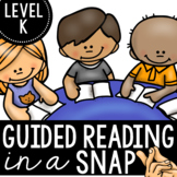 Guided Reading| Level K | Guided Reading in a Snap!