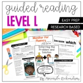 Guided Reading Level L Lessons and Activities