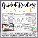 Guided Reading Lesson Plans Level L