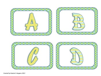 Guided Reading Level Labels for Book Baskets