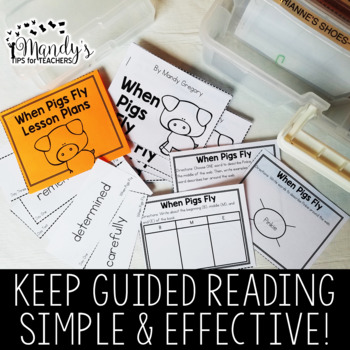 Guided Reading| Level M | Guided Reading in a Snap!