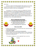 Guided Reading Level Parent Letter