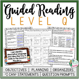 Guided Reading Lesson Plans Level Q