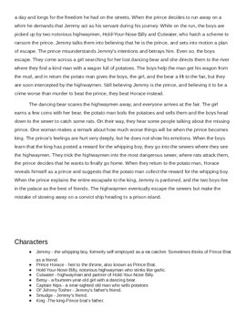 Guided Reading Level S - The Whipping Boy