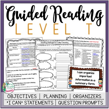 Guided Reading Level T