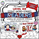Winter and Valentine PreEmergent Readers and Activities