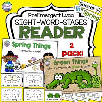 Guided Reading: Level aa Spring Sight Word Readers and Act