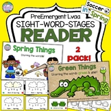 Sight Word Leveled Readers, Sentence Puzzles and Activities: Spring 2 pack!