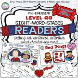 Guided Reading: Level aa Valentine Sight Word Reader and A