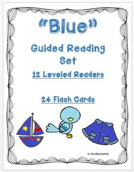 Color Book: Guided Reading Differentiated Sight Word and Leveled Book: Blue