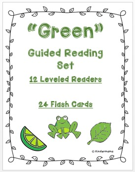 Color Book: Guided Reading Differentiated Sight Word Leveled Color Set: Green