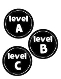 Guided Reading Leveled Book Labels - A-Z