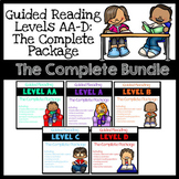 Guided Reading Leveled Books & Resources Levels AA-D: The Complete Bundle