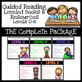 Guided Reading Books Levels O-S: The Complete Package Bund