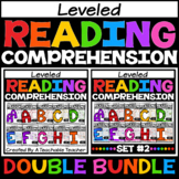 Guided Reading Leveled Passages AA-I DOUBLE BUNDLE for Dis