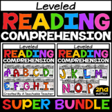 Guided Reading Leveled Passages Levels AA-P SUPER BUNDLE f