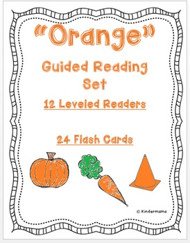 Color Book: Guided Reading Differentiated Sight Word Leveled Color Set: Orange
