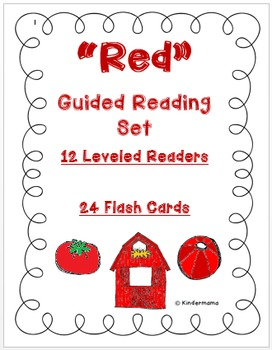 Color Book: Guided Reading Differentiated Sight Word and Leveled Color Set: Red