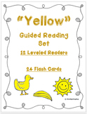 Color Book: Guided Reading Differentiated Sight Word Leveled Color Set: Yellow