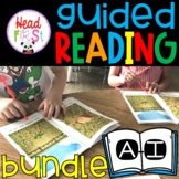 Guided Reading Levels A - I Word Work | Comprehension | Fluency