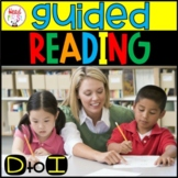 Guided Reading Levels D - I BUNDLE 20% OFF | Word Work | Comprehension