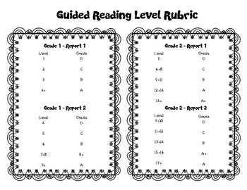 Guided Reading Levels GB+